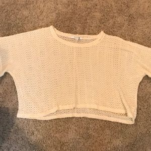 Forever 21 crop knit top